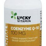 Coenzima Q-10 100 mg. - 60 Cápsulas gelatinosas de LuckyVitamin   Comprar Suplemento em Promoção Site Barato e Bom