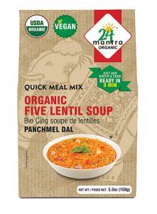 24 Mantra Organic Five Lentil Soup Panchmel Dal -- 5.3 oz   Comprar Suplemento em Promoção Site Barato e Bom