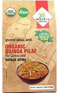 24 Mantra Organic Quinoa Pilaf Quinoa Upma -- 5.3 oz   Comprar Suplemento em Promoção Site Barato e Bom