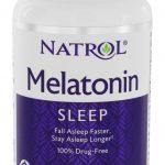 Melatonina Liberação Durante o Sono 5 mg. - 100 comprimidos de Natrol   Comprar Suplemento em Promoção Site Barato e Bom