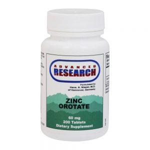 Orotato de Zinco 9.5 mg. - 200 comprimidos de Advanced Research   Comprar Suplemento em Promoção Site Barato e Bom