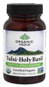 Tulsi-Holy Basil Anti-Stress Anti-Envelhecimento - 90 Cápsulas vegetarianas de Organic India   Comprar Suplemento em Promoção Site Barato e Bom