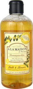A La Maison Bath & Shower Liquid Soap Honeysuckle -- 16.9 fl oz   Comprar Suplemento em Promoção Site Barato e Bom