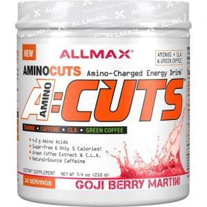 ALLMAX Nutrition A-Cuts™ Amino-Charged Energy Drink Goji Berry Martini -- 30 Servings   Comprar Suplemento em Promoção Site Barato e Bom