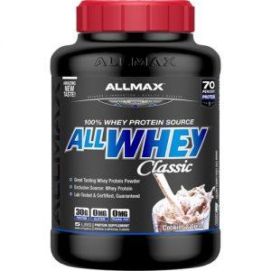 ALLMAX Nutrition ALLWHEY® CLASSIC Pure Whey Protein Blend Cookies & Cream -- 5 lbs   Comprar Suplemento em Promoção Site Barato e Bom