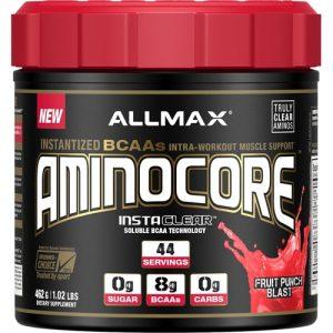 ALLMAX Nutrition Aminocore Fruit Punch Blast -- 44 Servings   Comprar Suplemento em Promoção Site Barato e Bom