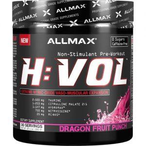 ALLMAX Nutrition H:Vol Extreme Nitric Oxide Dragon Fruit -- 30 Servings   Comprar Suplemento em Promoção Site Barato e Bom