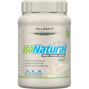 ALLMAX Nutrition IsoNatural™ Pure Whey Protein Isolate Unflavored -- 2 lbs   Comprar Suplemento em Promoção Site Barato e Bom