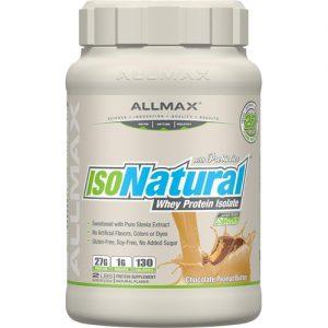 ALLMAX Nutrition IsoNatural™ Whey Protein Isolate Chocolate Peanut Butter -- 2 lbs   Comprar Suplemento em Promoção Site Barato e Bom