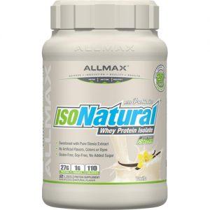 ALLMAX Nutrition IsoNatural™ Whey Protein Isolate Vanilla -- 2 lbs   Comprar Suplemento em Promoção Site Barato e Bom
