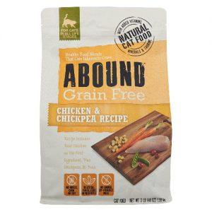 Abound Grain Free Cat Food Chicken & Chickpea Recipe -- 3 lb   Comprar Suplemento em Promoção Site Barato e Bom