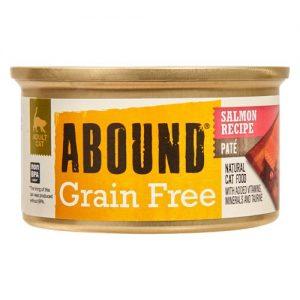 Abound Grain Free Paté Natural Cat Food Salmon Recipe -- 3 oz   Comprar Suplemento em Promoção Site Barato e Bom