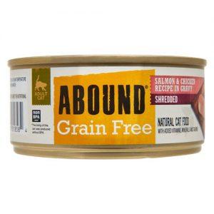 Abound Grain Free Shredded Salmon & Chicken Recipe in Gravy -- 5.5 oz   Comprar Suplemento em Promoção Site Barato e Bom
