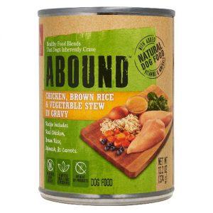 Abound Natural Dog Food Chicken, Brown Rice & Vegetable Stew in Gravy -- 13.2 oz   Comprar Suplemento em Promoção Site Barato e Bom