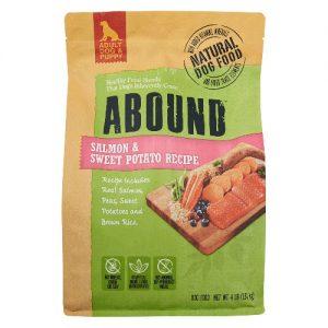 Abound Natural Dog Food Salmon & Sweet Potato Recipe -- 4 lb   Comprar Suplemento em Promoção Site Barato e Bom