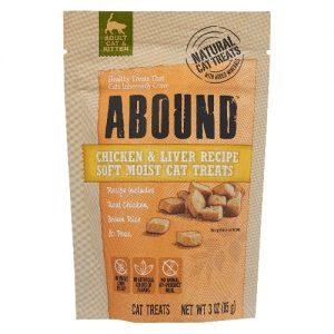 Abound Soft Moist Cat Treats Chicken & Liver Recipe -- 3 oz   Comprar Suplemento em Promoção Site Barato e Bom