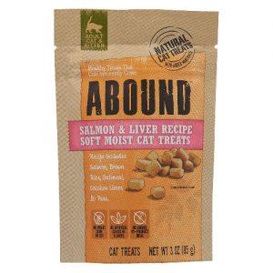 Abound Soft Moist Cat Treats Salmon & Liver Recipe -- 3 oz   Comprar Suplemento em Promoção Site Barato e Bom