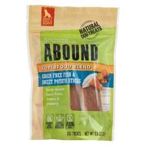Abound Superfood Blend Natural Dog Treat Sticks Fish & Sweet Potato -- 5.3 oz   Comprar Suplemento em Promoção Site Barato e Bom