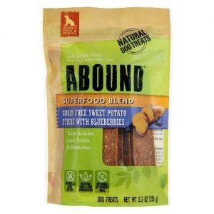Abound Superfood Blend Natural Dog Treat Sticks Sweet Potato with Blueberries -- 5.3 oz   Comprar Suplemento em Promoção Site Barato e Bom
