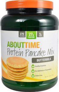 About Time Protein Pancake Mix Buttermilk -- 1.5 lbs   Comprar Suplemento em Promoção Site Barato e Bom
