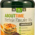 About Time Protein Pancake Mix Chocolate Chip -- 1.5 lbs   Comprar Suplemento em Promoção Site Barato e Bom