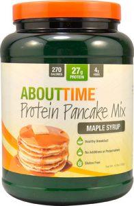 About Time Protein Pancake Mix Maple Syrup -- 1.5 lbs   Comprar Suplemento em Promoção Site Barato e Bom
