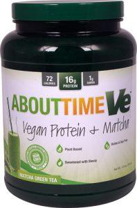 About Time Ve™ Vegan Protein plus Matcha Green Tea -- 1.6 lbs   Comprar Suplemento em Promoção Site Barato e Bom