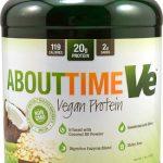 About Time Vegan Protein Chocolate -- 2 lbs   Comprar Suplemento em Promoção Site Barato e Bom