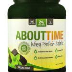 About Time Whey Protein Isolate Mocha Mint -- 2 lbs   Comprar Suplemento em Promoção Site Barato e Bom
