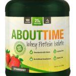 About Time Whey Protein Isolate Strawberry -- 2 lbs   Comprar Suplemento em Promoção Site Barato e Bom