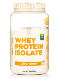 About Time Whey Protein Isolate Unflavored -- 2 lbs   Comprar Suplemento em Promoção Site Barato e Bom