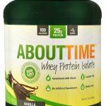 About Time Whey Protein Isolate Vanilla -- 2 lbs   Comprar Suplemento em Promoção Site Barato e Bom