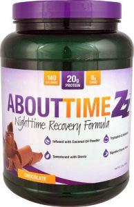 About Time Zz™ Nighttime Recovery Formula Chocolate -- 2 lbs   Comprar Suplemento em Promoção Site Barato e Bom