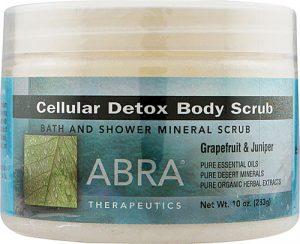Abra Therapeutics Cellular Detox Body Scrub Grapefruit & Juniper -- 10 oz   Comprar Suplemento em Promoção Site Barato e Bom