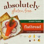 Absolutely Gluten Free Flatbread Everything -- 5.29 oz   Comprar Suplemento em Promoção Site Barato e Bom
