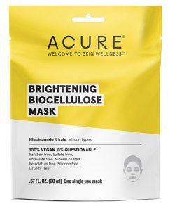 Acure Brightening Biocellulose Gel Mask - Single -- 1 Mask   Comprar Suplemento em Promoção Site Barato e Bom