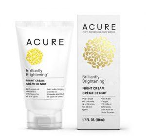 Acure Brightening Night Cream -- 1.75 oz   Comprar Suplemento em Promoção Site Barato e Bom
