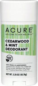 Acure Deodorant Stick Cedarwood & Mint -- 2.25 oz   Comprar Suplemento em Promoção Site Barato e Bom