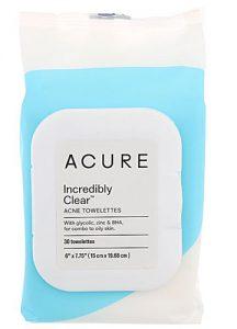Acure Incredibly Clear™ Acne Towelettes -- 30 Towelettes   Comprar Suplemento em Promoção Site Barato e Bom