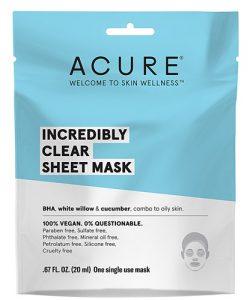 Acure Incredibly Clear Sheet Mask -- 1 Mask   Comprar Suplemento em Promoção Site Barato e Bom