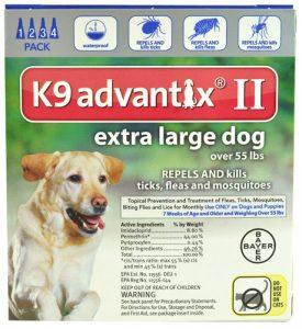 Advantix II K9 Flea Tick & Mosquito Treatment Extra Large Dog Over 55 lbs -- 4 Tubes   Comprar Suplemento em Promoção Site Barato e Bom