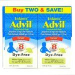 Advil Infant's Concentrated Drops Fever Dye-Free Twin Pack White Grape -- 2 Packs   Comprar Suplemento em Promoção Site Barato e Bom