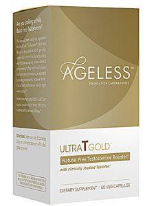 Ageless Foundation Ultra T Gold™ -- 60 Capsules   Comprar Suplemento em Promoção Site Barato e Bom
