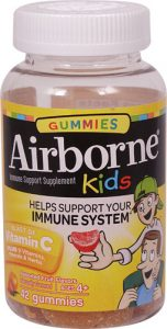Airborne Kids® Immune Support Supplement Assorted Fruit -- 42 Gummies   Comprar Suplemento em Promoção Site Barato e Bom