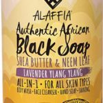 Alaffia Authentic African Black Soap Lavender Ylang Ylang -- 32 fl oz   Comprar Suplemento em Promoção Site Barato e Bom