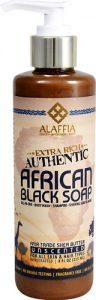 Alaffia Authentic African Black Soap Unscented -- 8 fl oz   Comprar Suplemento em Promoção Site Barato e Bom