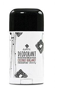Alaffia Deodorant with Activated Charcoal & Reishi Coconut Bergamot -- 2.65 oz   Comprar Suplemento em Promoção Site Barato e Bom