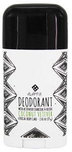 Alaffia Deodorant with Activated Charcoal & Reishi Coconut Vetiver -- 2.65 oz   Comprar Suplemento em Promoção Site Barato e Bom