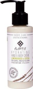 Alaffia Hydrating Hand & Body Crème Lemongrass & Cocoa -- 4 fl oz   Comprar Suplemento em Promoção Site Barato e Bom