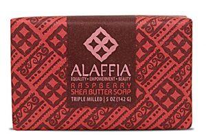 Alaffia Shea Butter Bar Soap Raspberry -- 5 oz   Comprar Suplemento em Promoção Site Barato e Bom